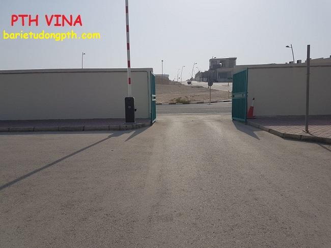 Lắp đặt cổng chắn barie tự động