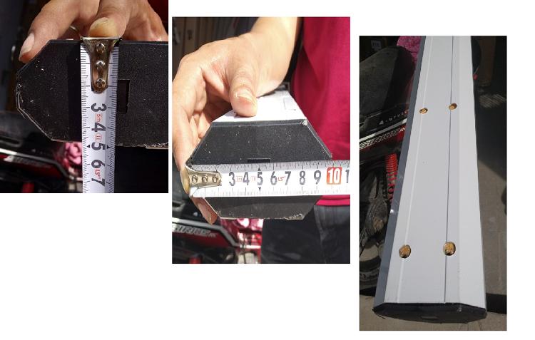Cách đo tay cần barie BS-306