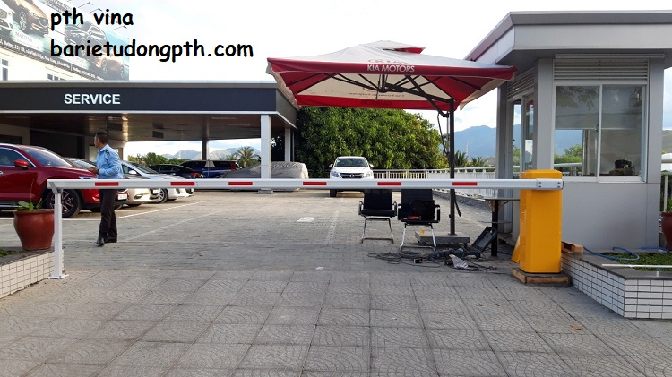 Barie tự động chính hãng tại Nha Trang