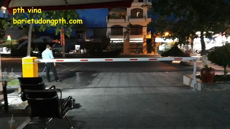 Lắp đặt barie tự động giá rẻ tại Nha Trang