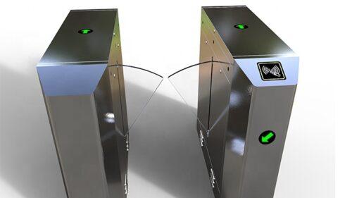 Cổng flap barrier tự động