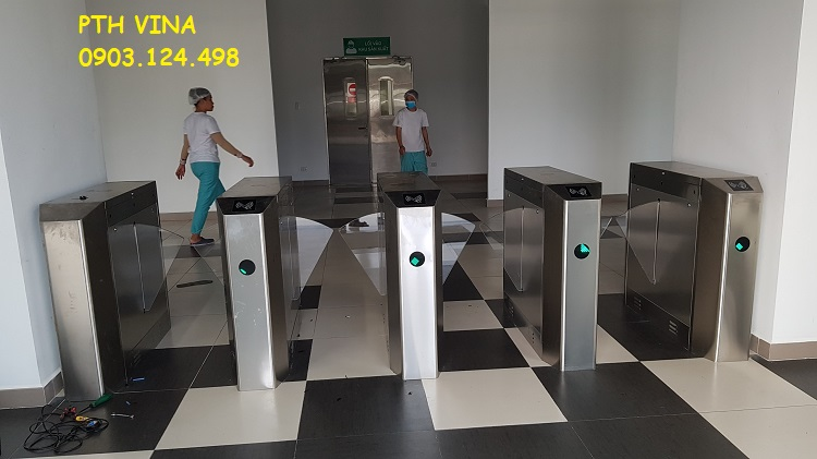 Cổng flap barrier