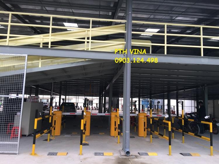 hệ thống giữ xe khu công nghiệp