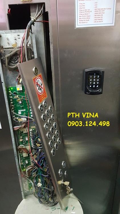 hệ thống kiểm soát thang máy