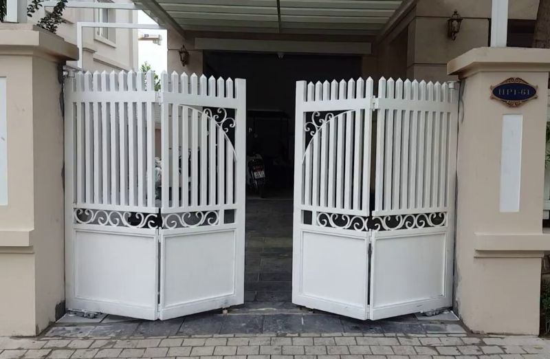 cổng công ty theo phong thủy
