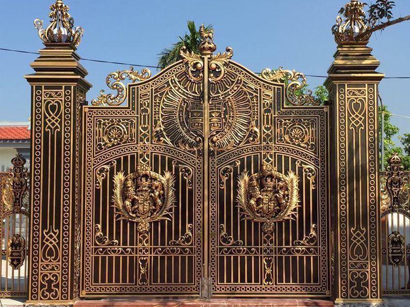cách đo cửa cổng theo thước lỗ ban