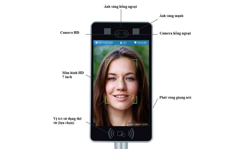 Máy nhận diện khuôn mặt TM07