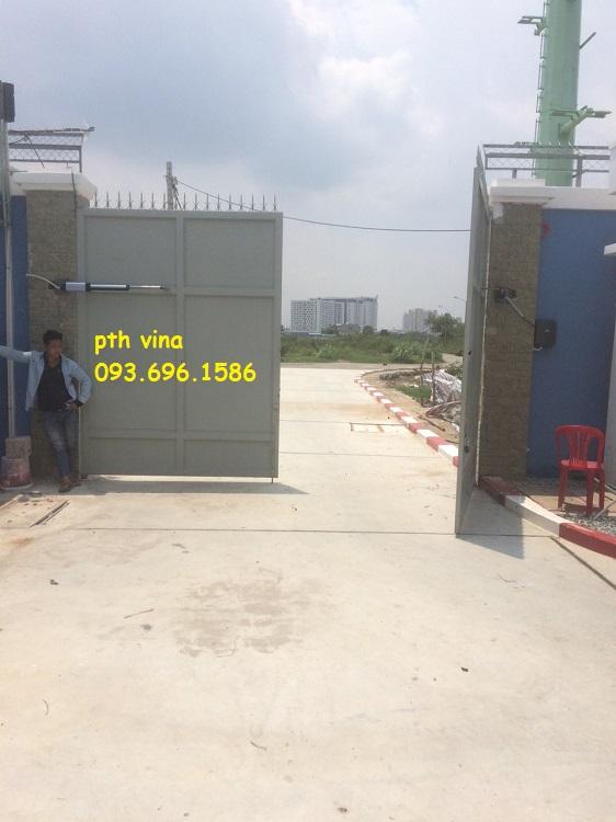 Lắp đặt cổng mở cánh tay đòn tại Đồng Nai
