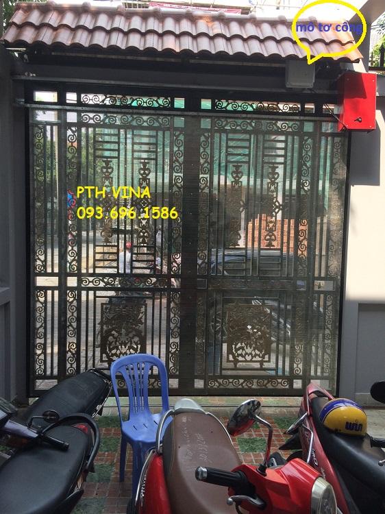 lắp đặt cổng trượt tự động tại Quận 9