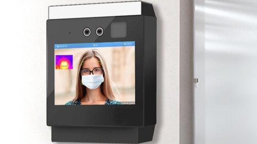Máy đo thân nhiệt tích hợp nhận diện khuôn mặt