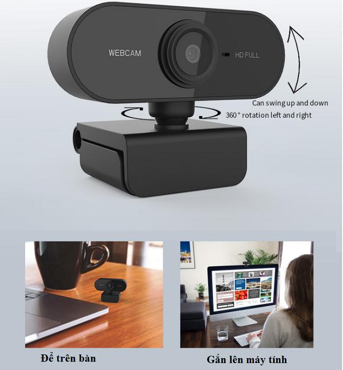 Webcam dùng cho máy tính
