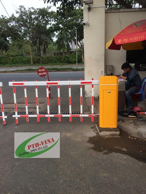 barrier tự động hàng rào